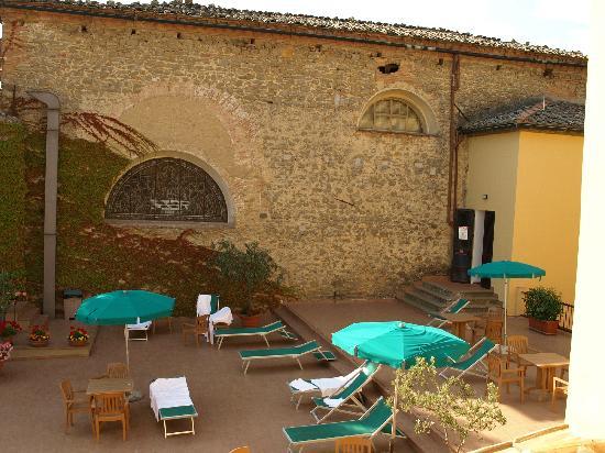 San Lino: uitzicht slaapkamer