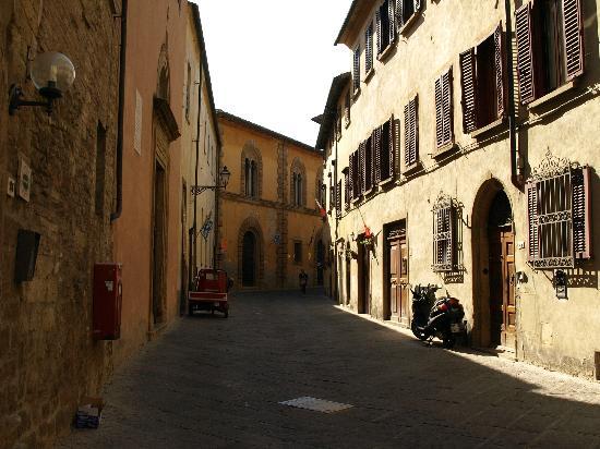 San Lino: straat waar hotel ligt