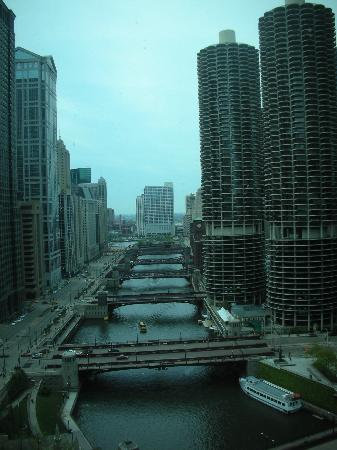 Wyndham Grand Chicago Riverfront: Beautiful view from the room