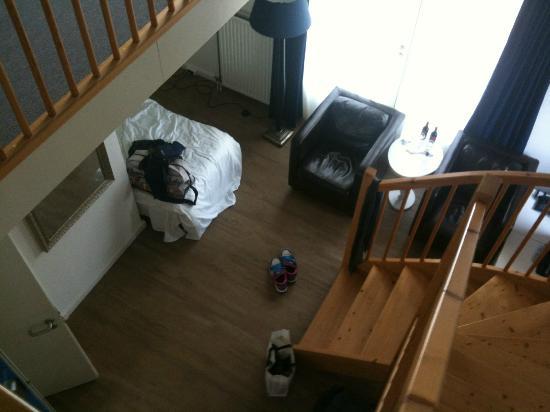 Strandhotel Duinheuvel : chambre duplex