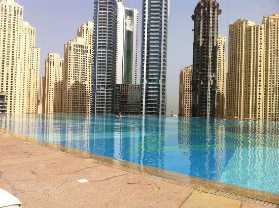 Infinity Pool Picture Of Address Dubai Marina Dubai Tripadvisor