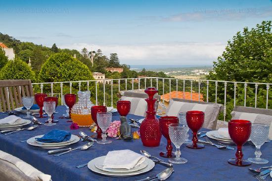 Bed and Breakfast Villa Mira Longa: The Terrace