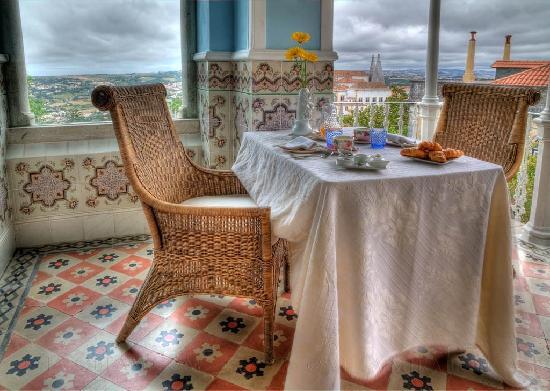 Bed and Breakfast Villa Mira Longa : A Breakfast in the veranda