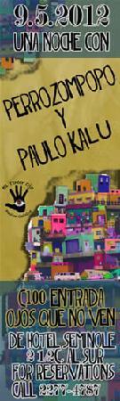 El Tercer Ojo : perrozompopo y paulo kalu