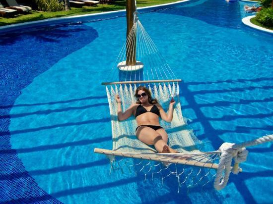 Excellence Playa Mujeres: Water Hammock