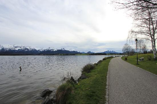 Hotel Fischer am See: walking path near lake - 50 m from hotel