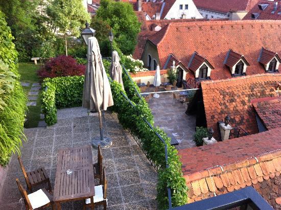 Dachterrassen: Terrazza Sp Dachterrassen Ferienwohnung Og. Die ... Moderne Dachterrasse Unterhaltungsmoglichkeiten