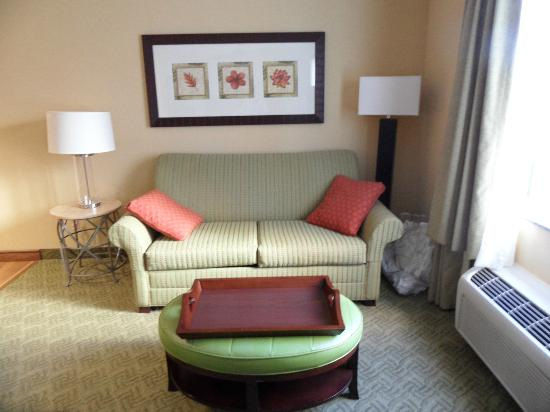 Homewood Suites West Palm Beach: couch