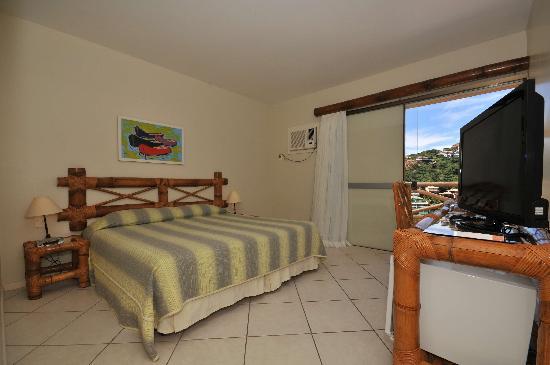 Rio Buzios Beach Hotel: Standard room with yard or pool view