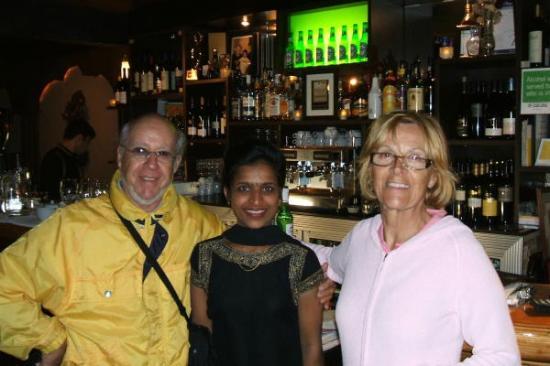 Oh Calcutta Indian Cuisine & Tandoor: Juste avant de quitter ce temple de la gastronomie indienne