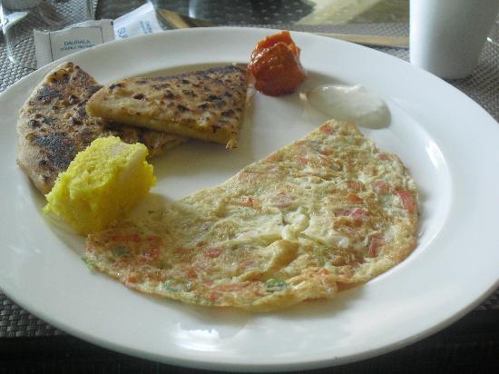 ميرادين لا أواسيز: One of the breakfasts at the hotel