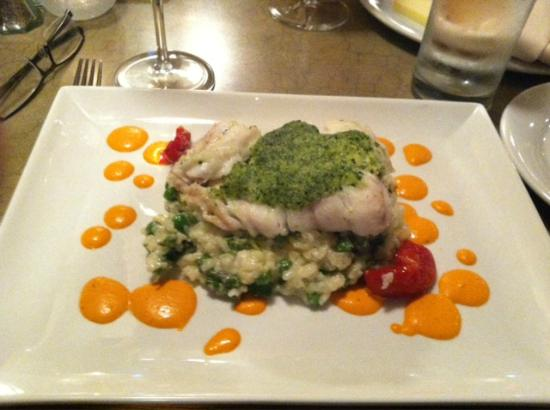 Alta Restaurant & Wine Bar: White Fish Entree (Special that evening)