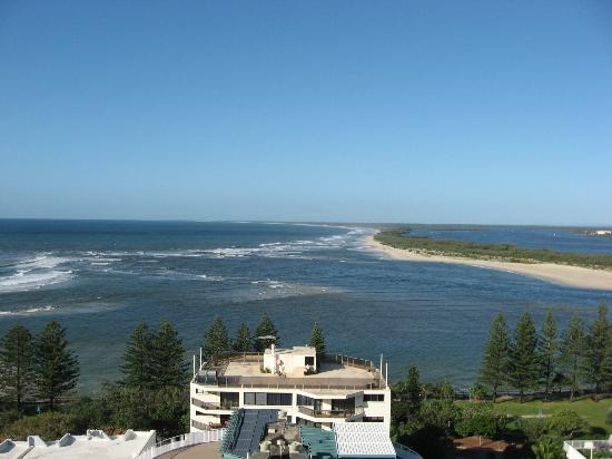 Aspect Caloundra: View from the balcony