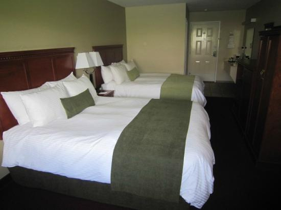 Riverland Inn & Suites: remodeled twin queen unit