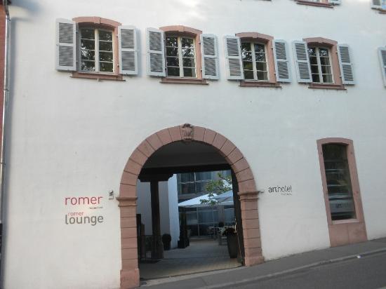 ArtHotel Heidelberg: Hotel entrance