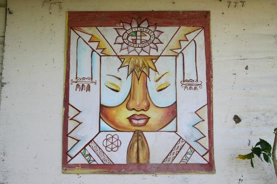 Coral House: Local Maya Artwork