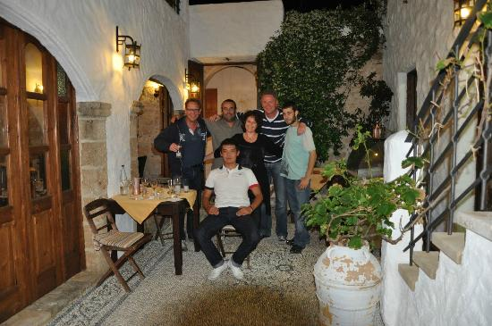 "To Kamariko Taverna: The staff and ""some"" visitors"