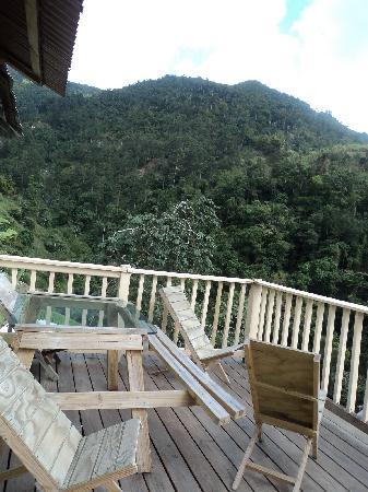 Mount Edge Guest House: Balcony @ Mount Edge, Newcastle, Jamaica