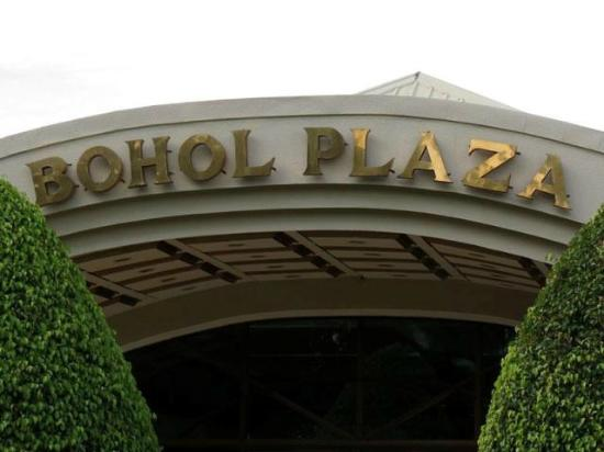 Bohol Plaza Resort: Big Entrance
