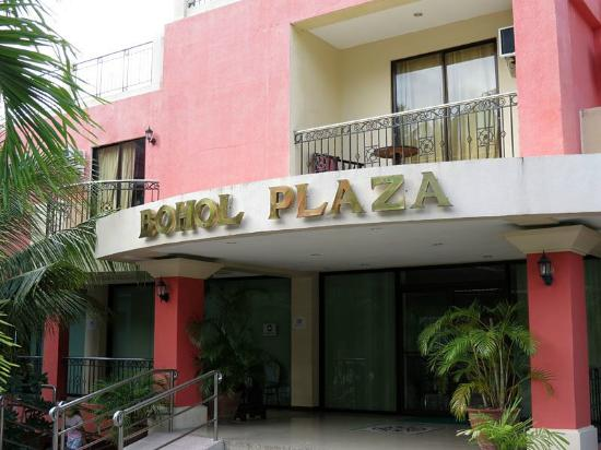 Bohol Plaza Resort : The entrance to the Standard Rooms