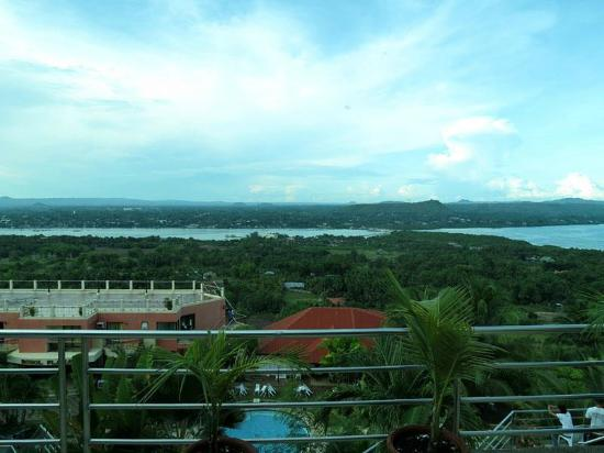 Bohol Plaza Resort: Nice view from the top