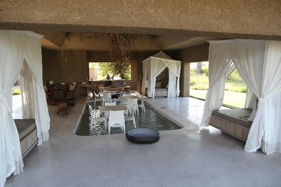 Sabi Sabi Earth Lodge: Hotel grounds