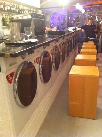 Al Volo: the new Washing Machines Bar