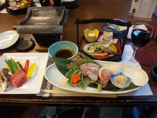 Nanairo no Kaze: 夕食。