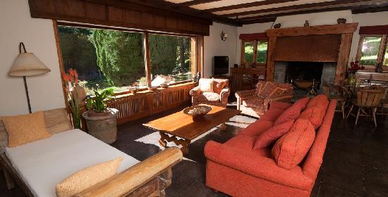 Millaqueo Luxury Villa : sala de estar