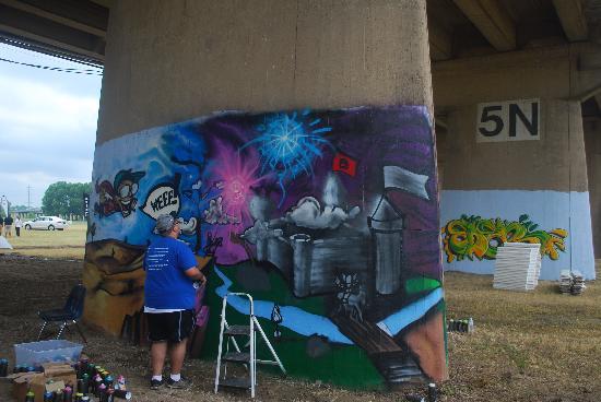 Trinity River: Street Art