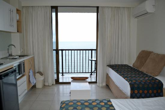 Aquarius on the Beach: room with a view!