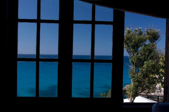 Villas Sur Mer: View from our bed.