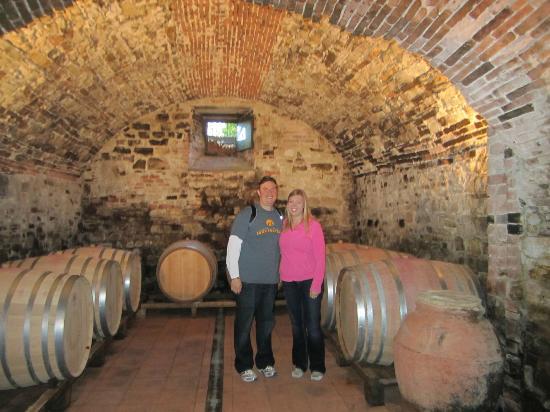 Tuscan Wine Tours with Angie : Inside Marchesi Bartolini Baldelli's cellar