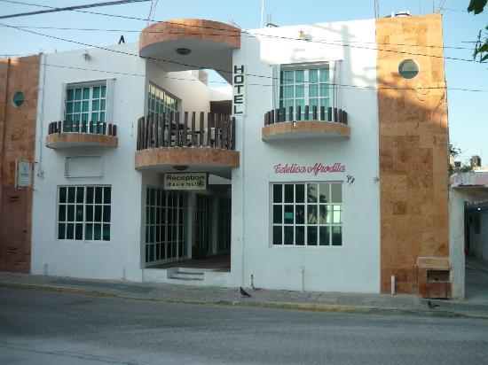 Hotel Xbulu-Ha: ENTRADA DEL HOTEL