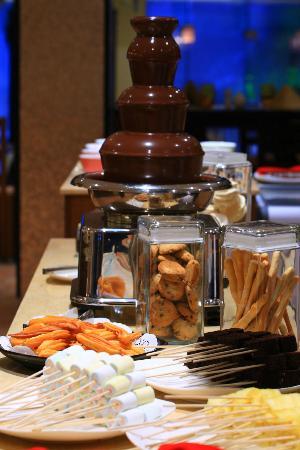 Mequeni Restaurant: Fountain Chocolate