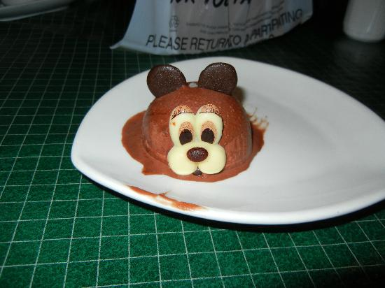 Grace's Fortune Restaurant: Mouse ice cream