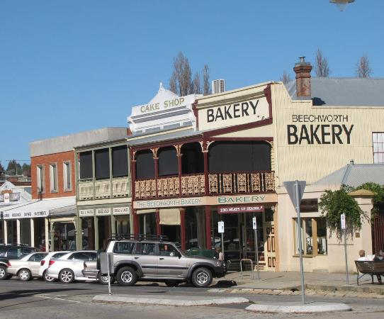 Beechworth Bakery-Exterior view