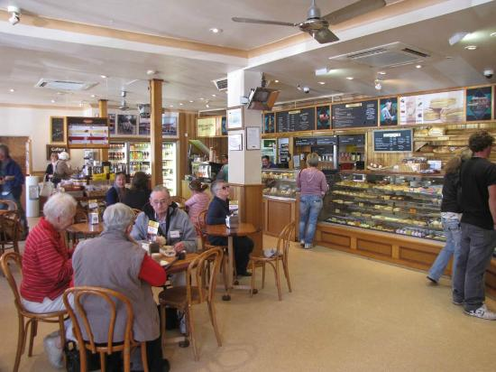 Beechworth Bakery-Interior view