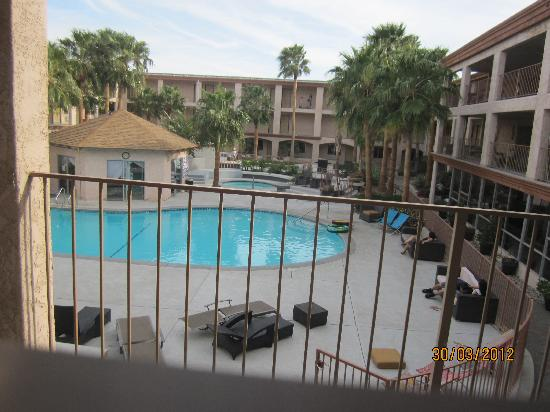 Aqua Soleil Hotel & Mineral Water Spa: the view from our room