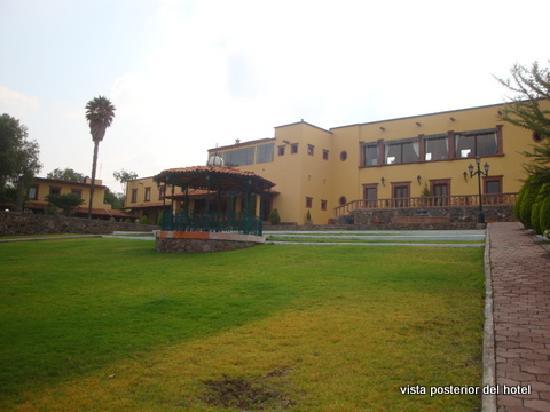 Mirador del Frayle Hotel: vista fachada posterior