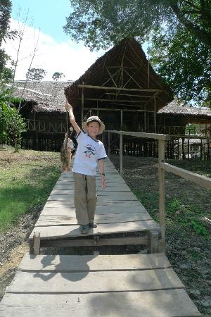 Amazonia Expeditions' Tahuayo Lodge: Best fisherman