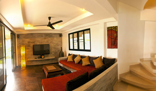 Koh Tao Heights Boutique Villas: Villa Lounge