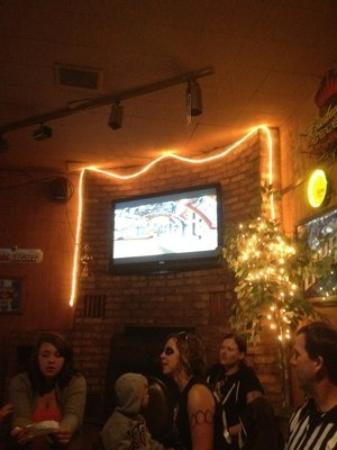 Canyon Bar & Grill: Big Screen TV