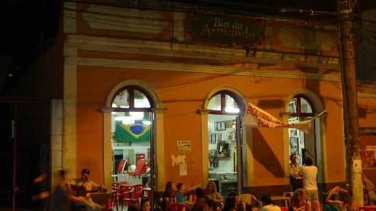 Bar Do Armando: Another beautiful shot of the bar at night.