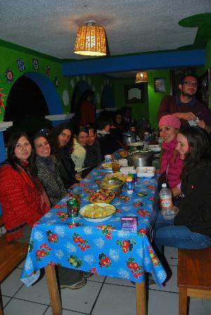 Iguana Hostel: dinner