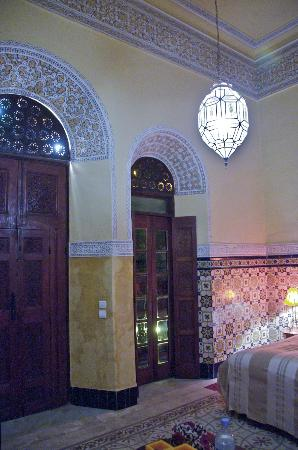 Riad L'Aziza : Our room.