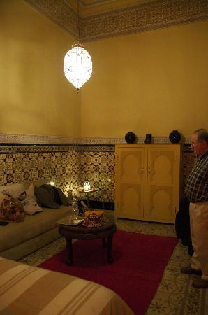 Riad L'Aziza : Our room.