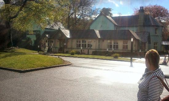 Premier Inn Wrexham North (A483) Hotel: The Beeches, directly opposite the hotel