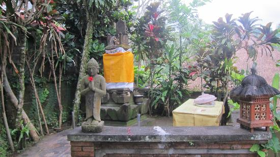 Kebun Indah: A small shrine at the grounds.