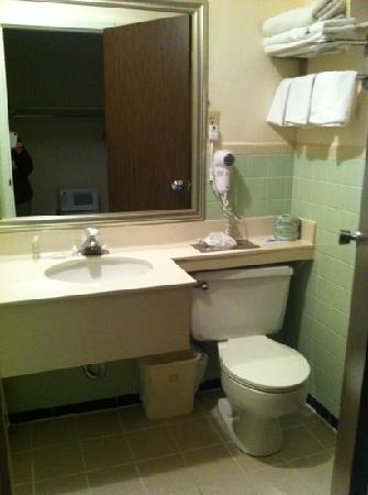 BEST WESTERN Plaza Inn: modern upgraded bathrooms circa 1967